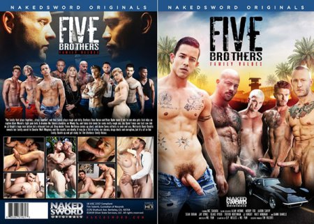 Five Brothers: Family Values 2019 Full HD Gay DVD