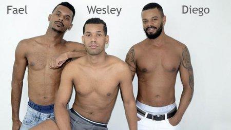 Tres Negoes - Diego Moreno, Fael Rocha & Wesley Sanches 2019-04-21