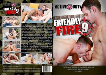 Friendly Fire 9 2019 Full HD Gay DVD