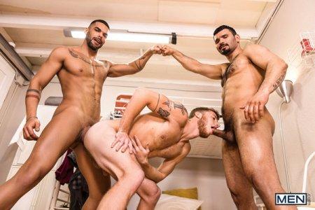 Hostel Takeover Part 3 - Jean Franko, Justin Matthews & Lucas Fox 2019-05-23