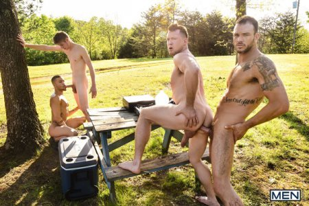 The Legend of Big Cock Part 3 - Beaux Banks, Cliff Jensen, Oliver Dean & Pierce Paris 2019-06-17