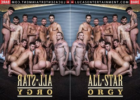 All-Star Orgy 2019 Full HD Gay DVD