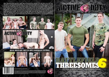 Battlefield Threesomes 6 Full HD Gay DVD 2019