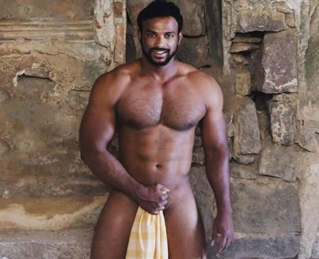 OnlyFans - Charan Bangaram Muscle Hunk Bareback