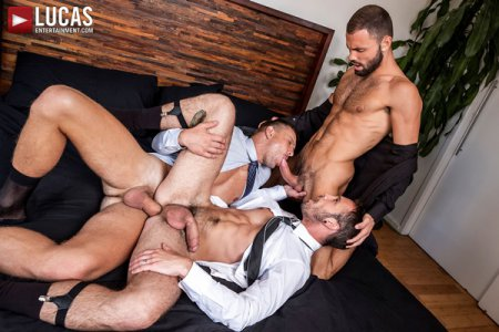 Drake Rogers Works Hard For Jeffrey Lloyd And Andrey Vic 2019-07-22