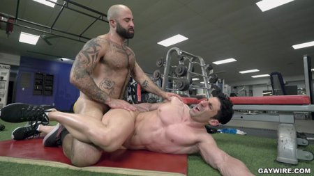 Atlas Grant fucks Sir Jet at the Gym 2019-08-02