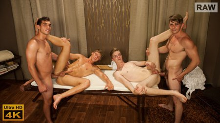 Wank Party #111, Part 2 RAW 2019-08-14