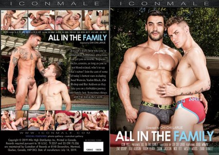 All In The Family 2019 Full HD Gay DVD