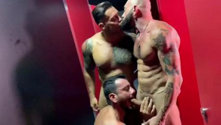 Bathhouse whores - Joe Gillis, Allen King, Gianni Maggio & Viktor Rom 2019-09-30