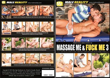 Massage Me & Fuck Me 3 2019 Full HD Gay DVD