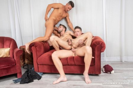 Shooting Their Loads - Johnny Rapid, Jax Thirio & Dalton Riley 2020-01-10