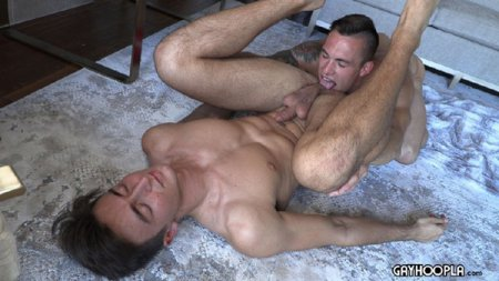 Ripped, Cocky, Muscle Dude teaches the New Guy how to Fuck 2020-02-14