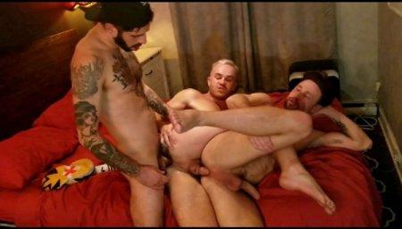 Hot 3-some - Romeo Davis, Drew Dixon & Jackson Radiz 2020-03-04