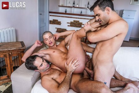 Michael Lucas And Max Arion Double-Team Ruslan Angelo 2020-04-06