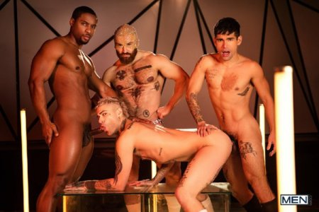 Tom of Finland: Future Erotica - Ty Mitchell, Francois Sagat, Mickey Taylor & DeAngelo Jackson 2020-05-08