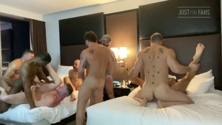 JustForFans - Jake Nicola Orgy part 3