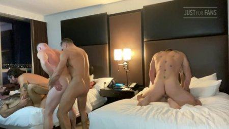 JustForFans - Jake Nicola Orgy part 4
