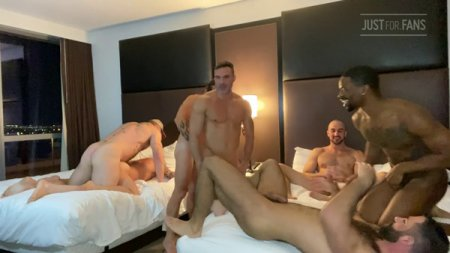 JustForFans - Jake Nicola Orgy part 5