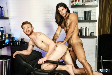 MEN.com's Fab 3 Part 1 - A Gay XXX Parody - Diego Sans & Calhoun Sawyer 2020-06-05