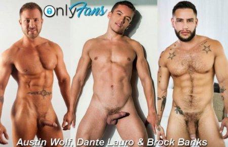OnlyFans - Austin Wolf, Dante Lauro & Brock Banks