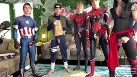 OnlyFans - Avengers Orgy - Halloween group show