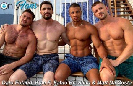 OnlyFans - Fabio Brazilian, Matt Da Costa, Dato Foland & Kyle F