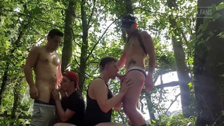 JustForFans - Naughty Welsh Couple - Fourway in the Woods