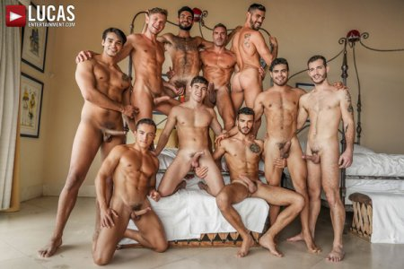 Plowed, Pounded, Pummeled - 11-Man Orgy - Part 02 2021-05-28
