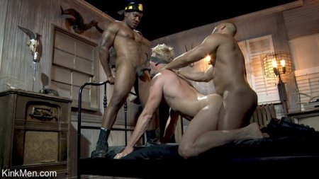 Roman Eros Doused with Cum In Sexy Firemen Fantasy 2021-09-14